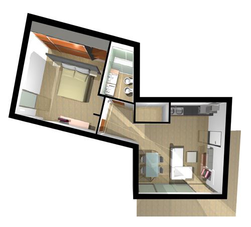 Le planimetrie arenzano bifamiliari for Le cabine progetta le planimetrie